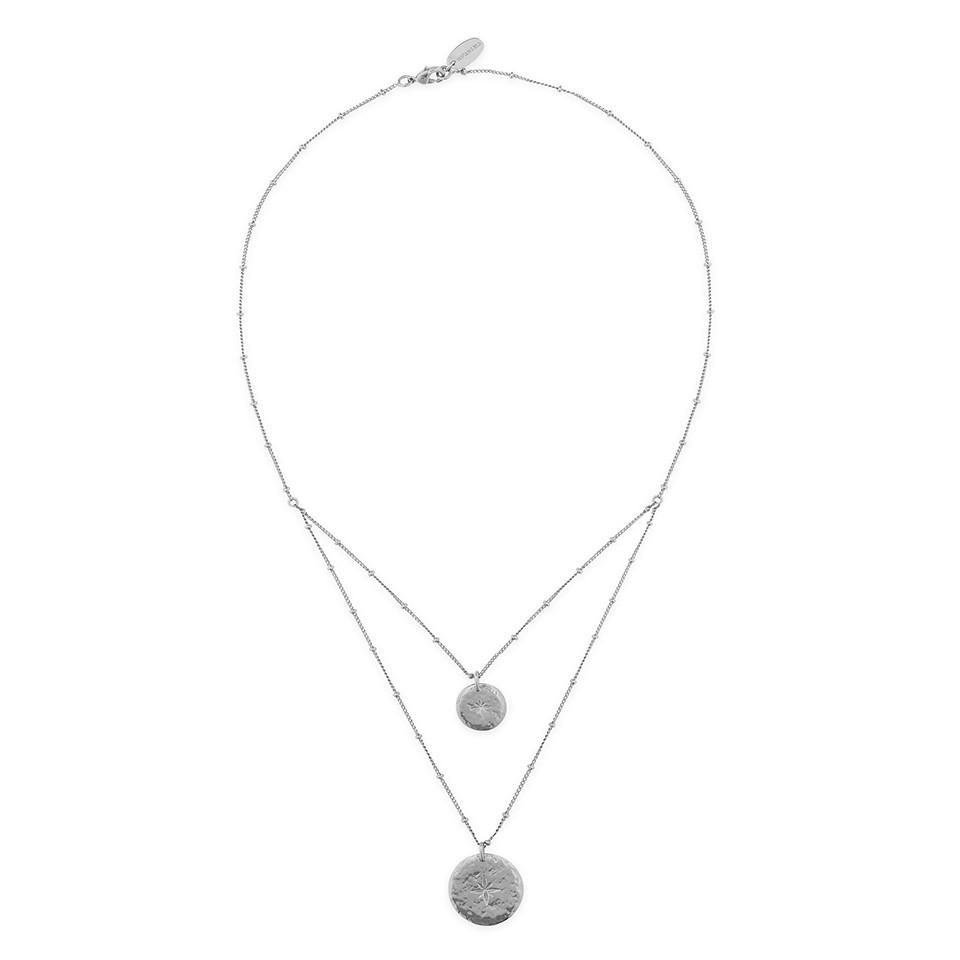 collier ombre silver