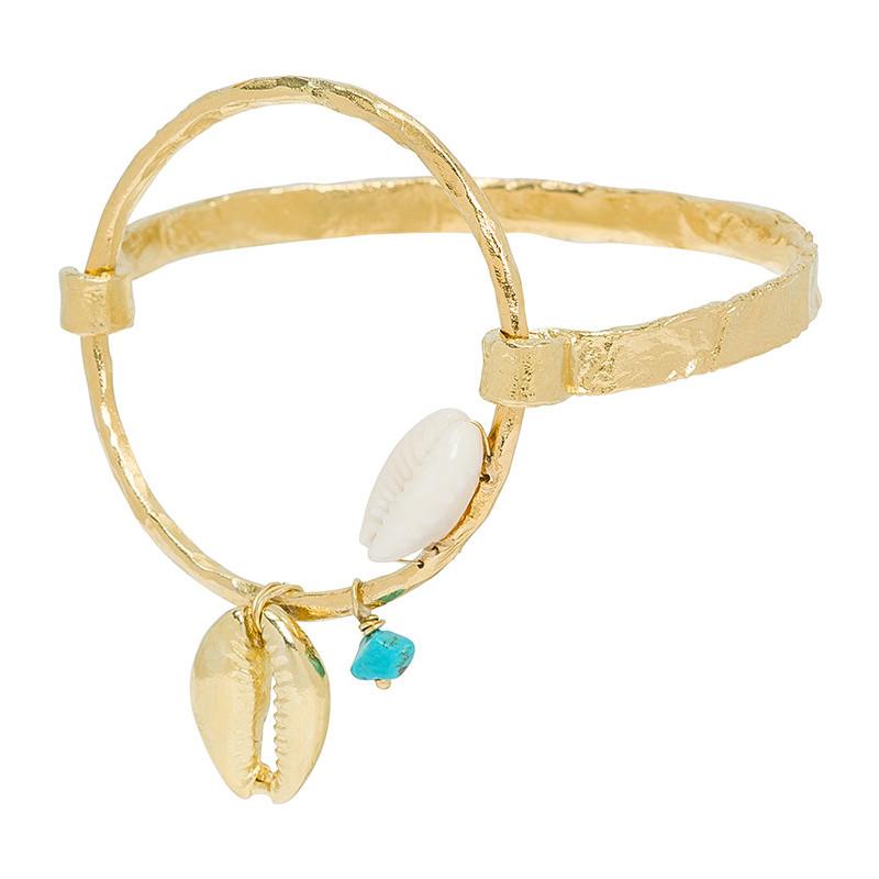 bracelet femme marlowe gold